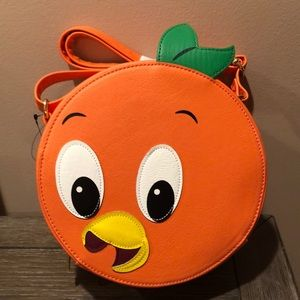 Disney Orange Bird crossbody purse handbag NWT